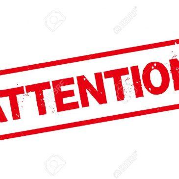 ATTENTION :  bains actuellement fermés jusqu'au dimanche 24 novembre inclus.
