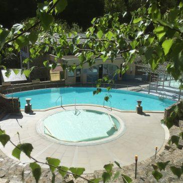 Ouverture des bains le lundi 15 juin 2020. Réservation des massages….