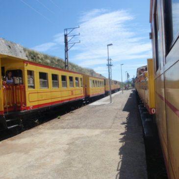 Le petit train jaune reprend du service! Il est enfin possible d'accèder aux bains depuis la Cerdagne et le Capcir….