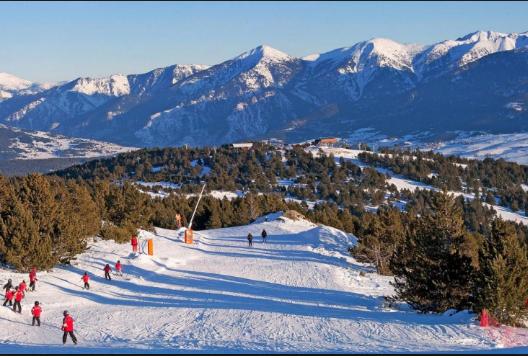 Les bons plans de l'hiver : Partenariat avec La station de Font-Romeu : Ski et bains!